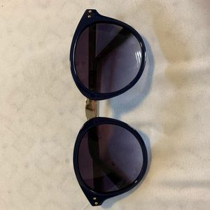 Accessories - Navy and gold sunglasses